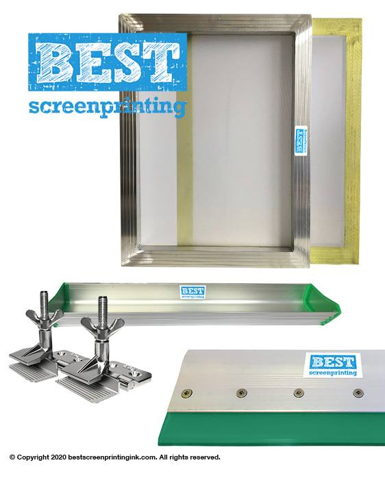 New A3 Deluxe Screen Printing Kits 43T 47T 90T 120T. Customise your bundle.