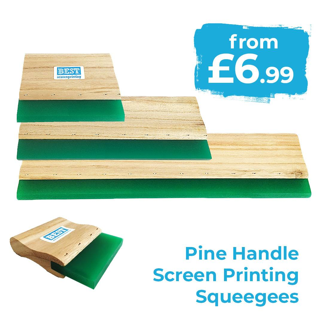 Wood Screen Printing Squeegee 75A