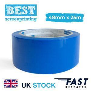 48mm blue screen block out tape
